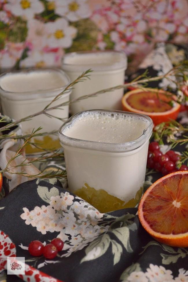 Yogures de Vainilla y Piña | CON HARINA EN MIS ZAPATOS