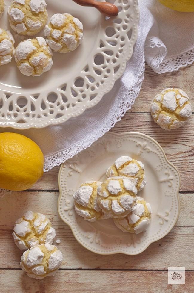 Crinkles de Limón y Cardamomo | CON HARINA EN MIS ZAPATOS