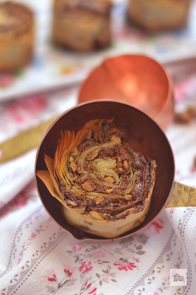 Espirales de Chocolate y Pistacho | CON HARINA EN MIS ZAPATOS