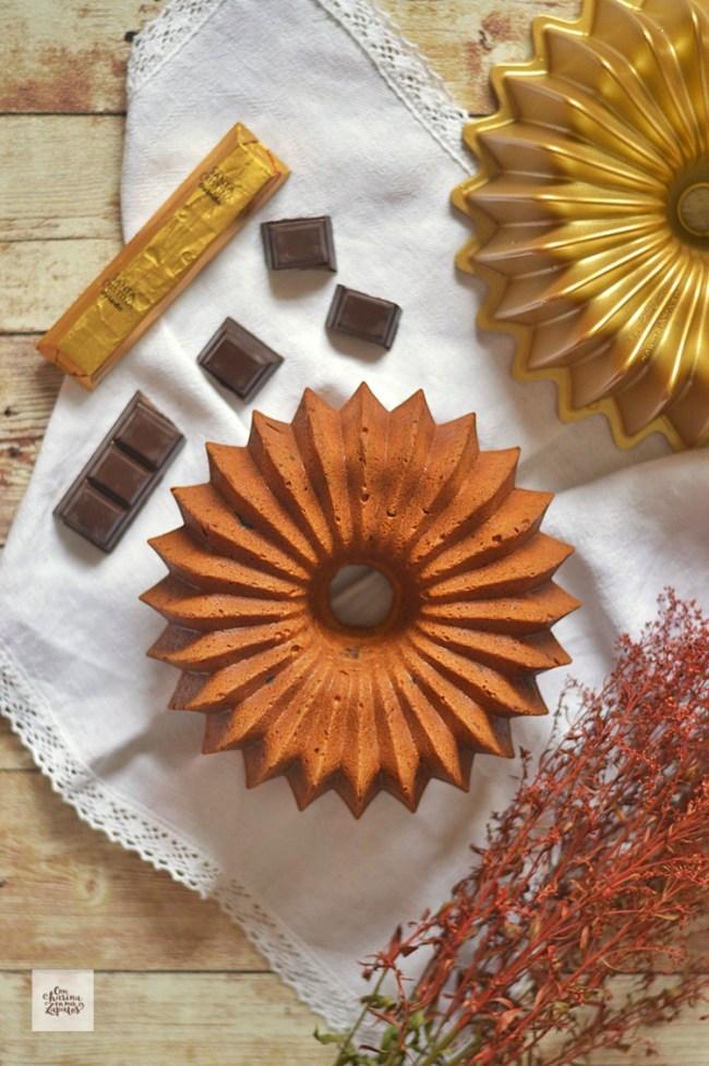 Bizcocho de Chocolate y Nata | CON HARINA EN MIS ZAPATOS