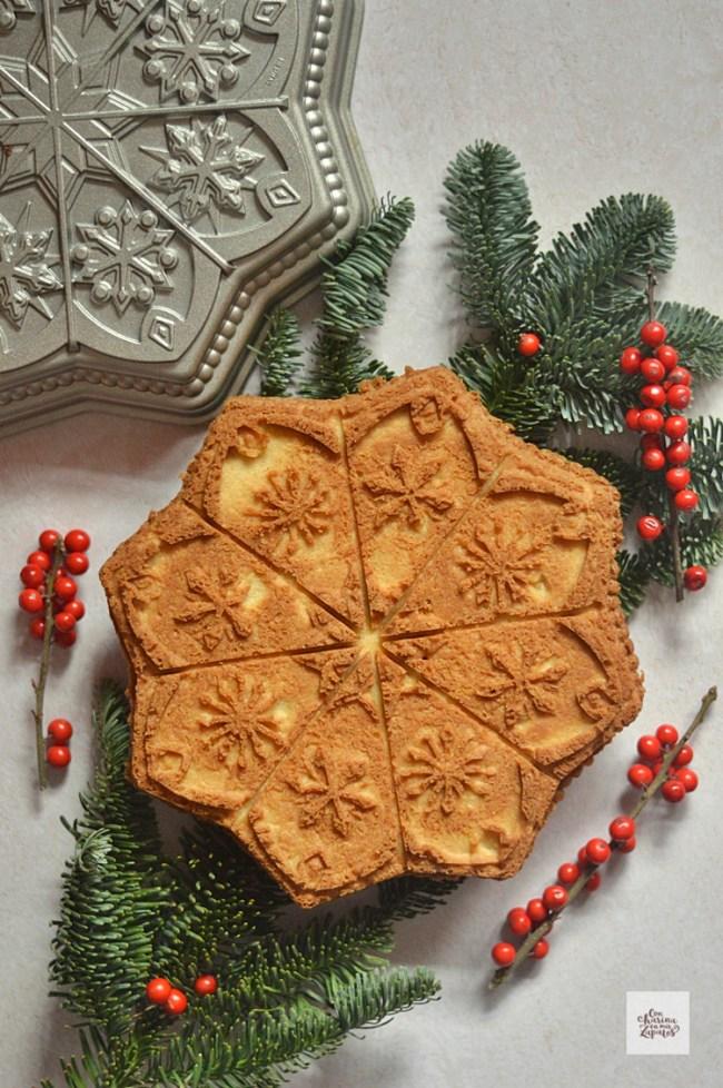 Galleta Shortbread en molde | CON HARINA EN MIS ZAPATOS