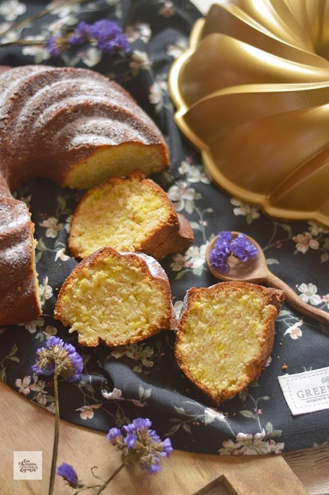 Bundt Cake de Limón Confitado | CON HARINA EN MIS ZAPATOS