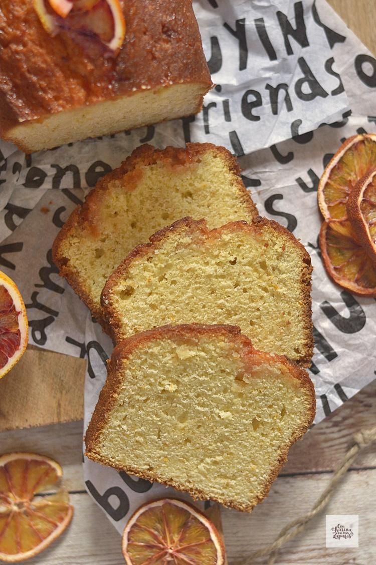 Pound Cake de Naranja Sanguina