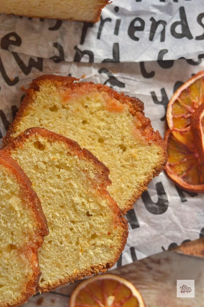 Pound Cake de Naranja Sanguina | CON HARINA EN MIS ZAPATOS