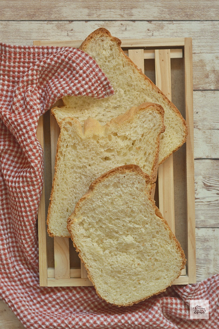Pan de Leche en Panificadora
