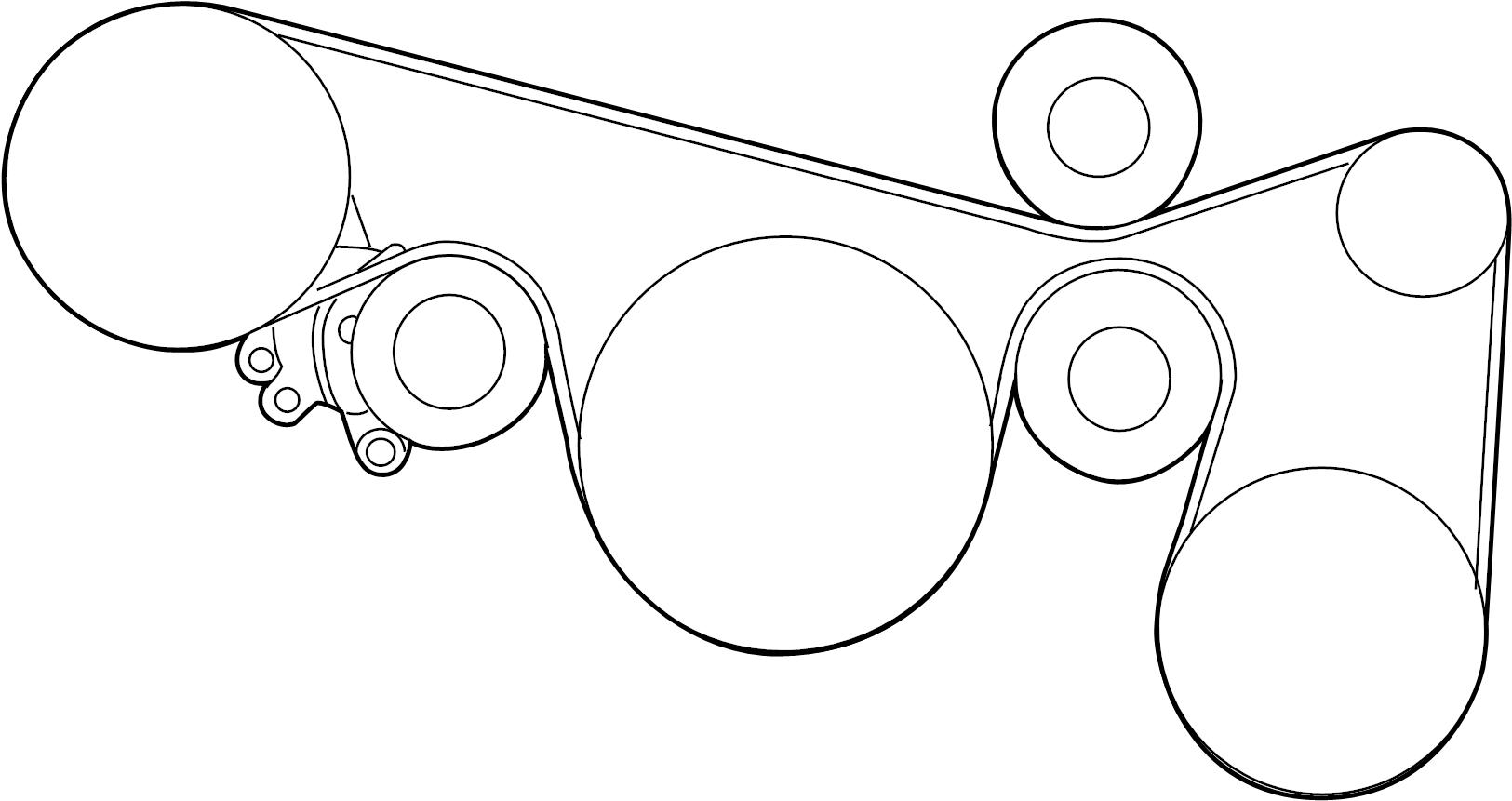 Nissan Maxima Serpentine Belt