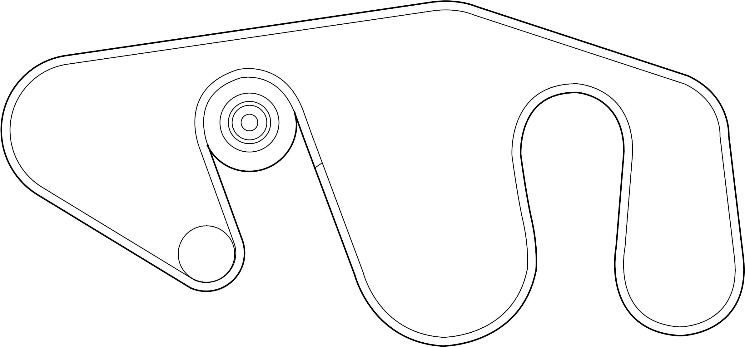 Nissan Titan Serpentine Belt Steering Power Fan