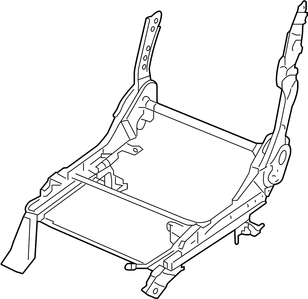 Nissan Frontier Seat Track Adjust Mechanism Right Front