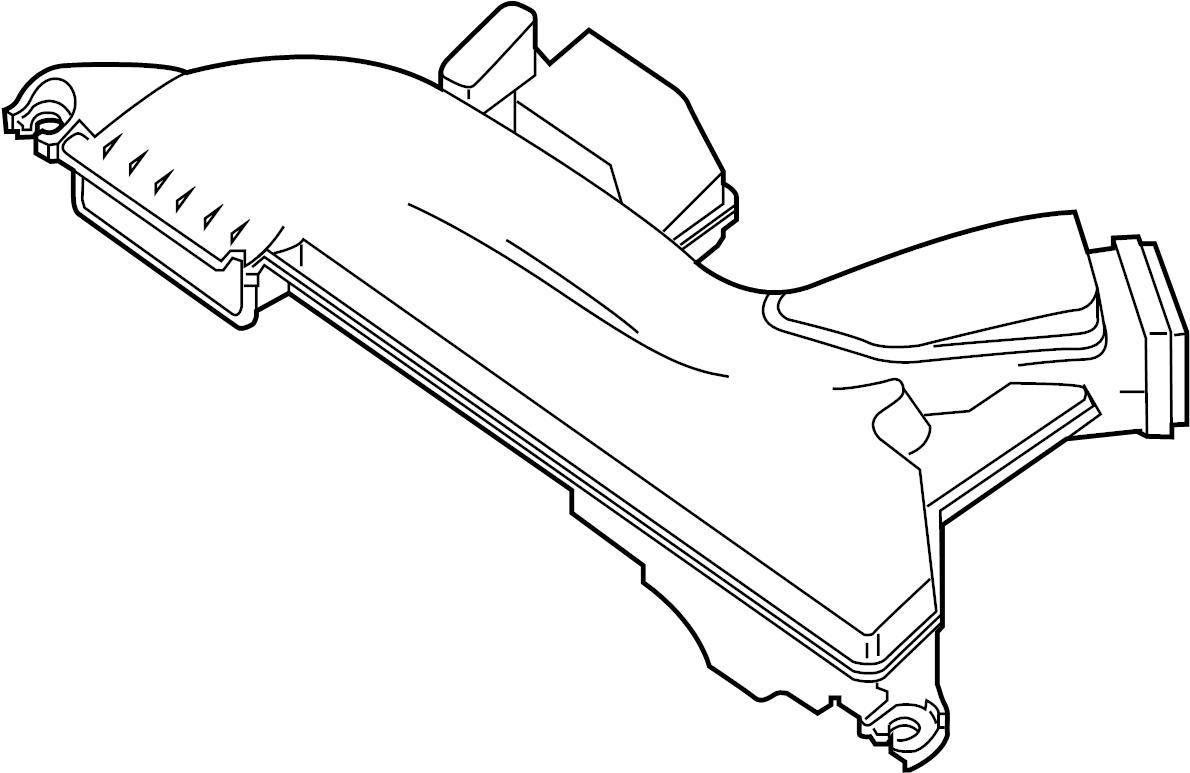 Nissan Altima Engine Air Intake Hose Cleaner