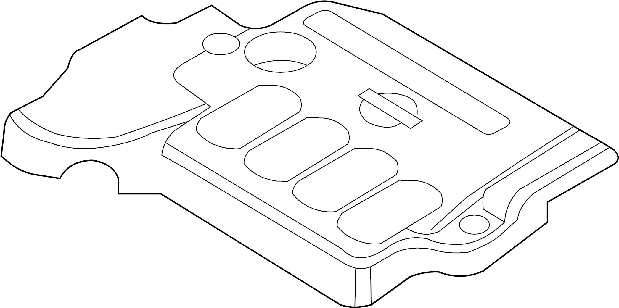 Nissan Altima Engine Cover Intake