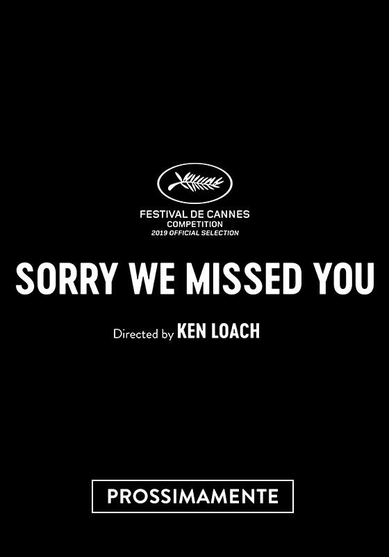 SORRY WE MISSED YOU | un film di Ken Loach dal 2 gennaio al cinema