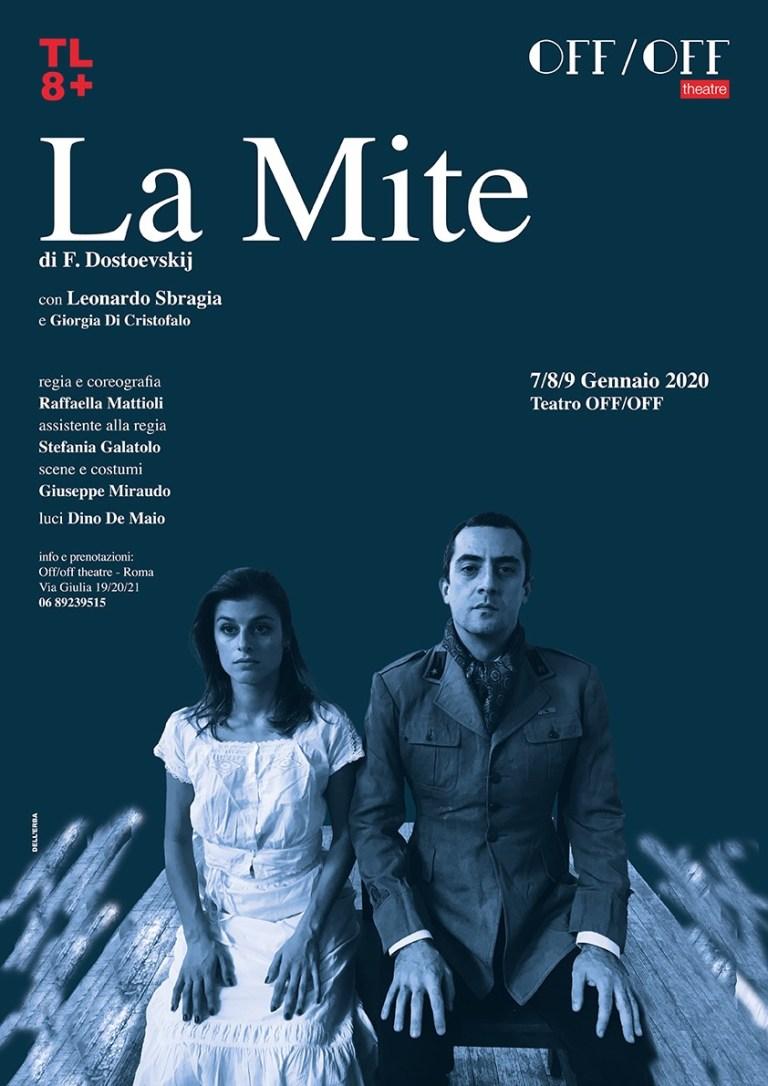 OffOff Theatre | In scena La Mite fino al 9 Gennaio liberamente tratto dall'opera letteraria di Fedor Dostoevskij