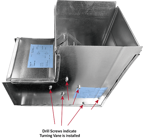 Do you know the types of elbows used in rectangular duct
