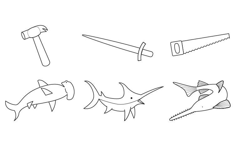 Imagenes De Peces Para Dibujar Para Ninos On Log Wall