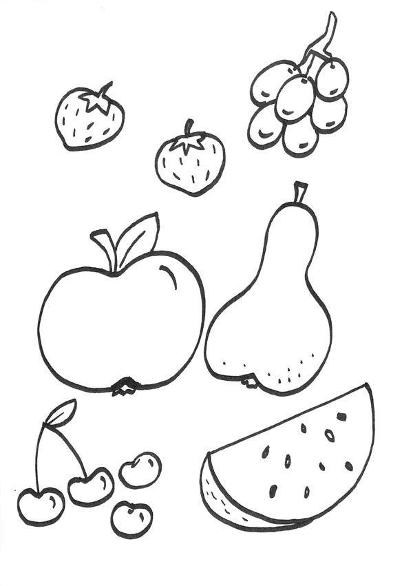 Dibujos De Verduras Para Colorear E Imprimir On Log Wall
