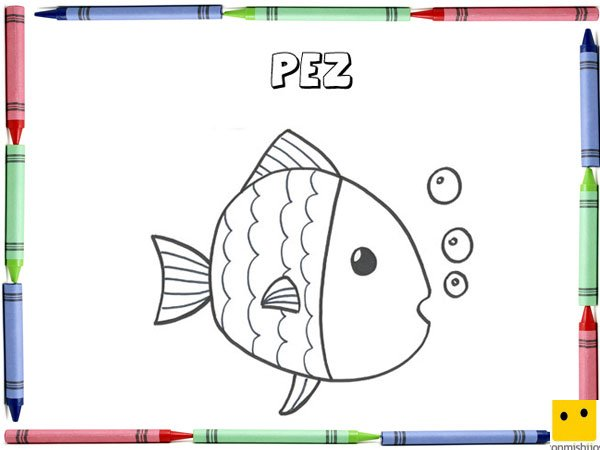 pez salmon colouring pages page 2