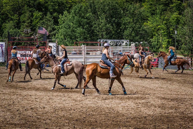 Viaja y descubre los festivales de Rodeo en Estados Unidos con Cowboy New York State con Mapa de Momentos