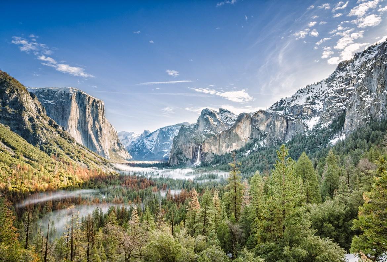 Viaje California - Roadtrip fotografico Conmisojos - Yosemite Valley Clouds