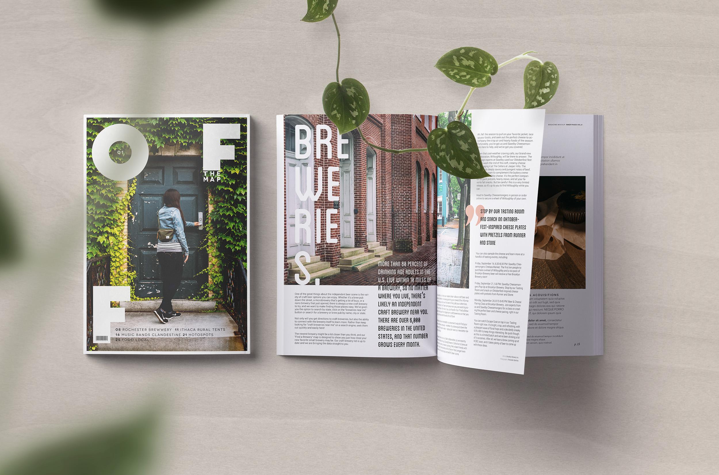 Editorial Photography and Design - Off the Map magazine - Conmisojos Fernando Sánchez Arribas