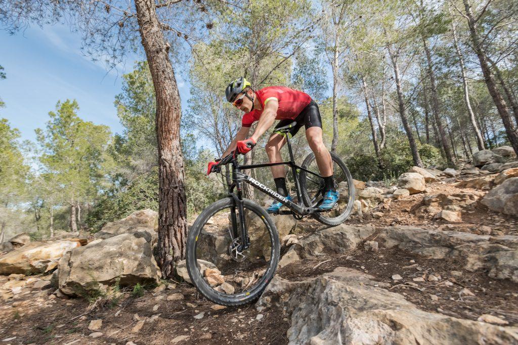 Nueva bicicleta carbono Rockrider PressCamp 2019 - fotografias por conmisojos
