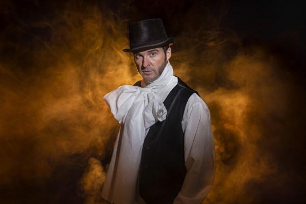 Diseño web, cartelería, videos y fotografías de la obra de teatro Goya en Fuendetodos