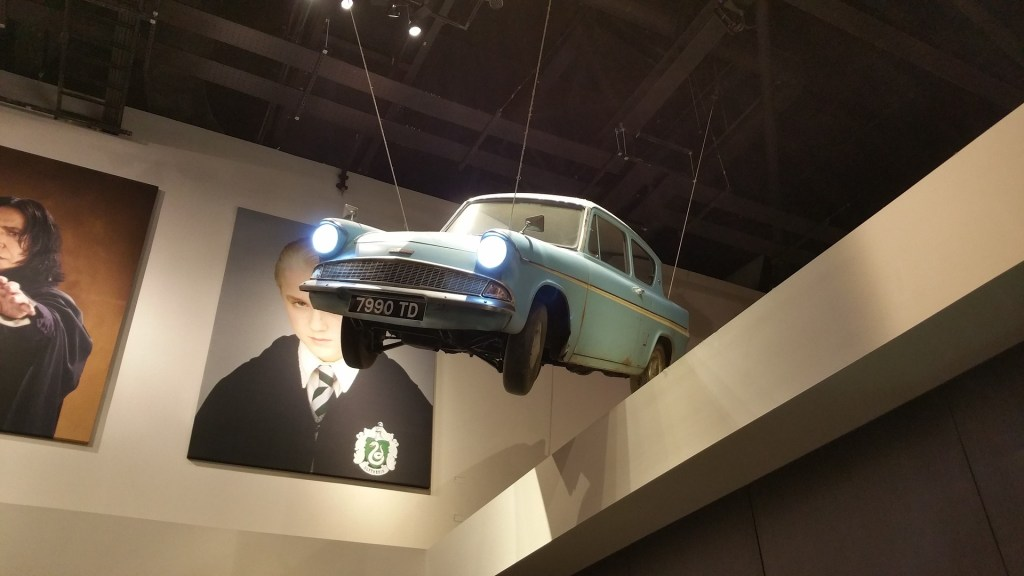 Flying car from Harry Potter
