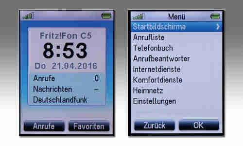 Avm Fritzfon C5 Im Test Connect