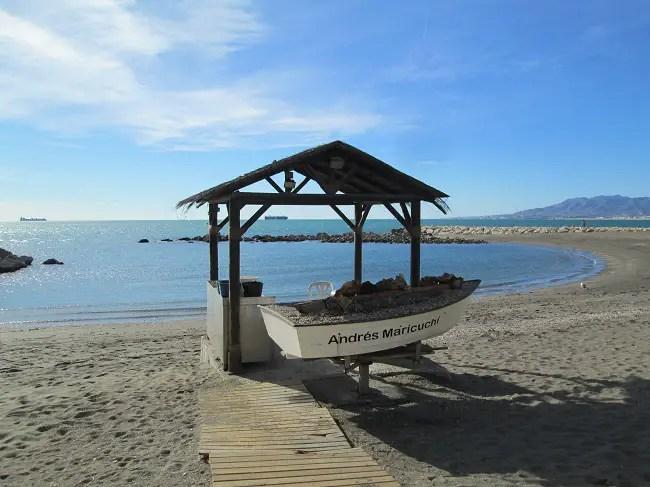 Playa de Pedregalejo, Malaga