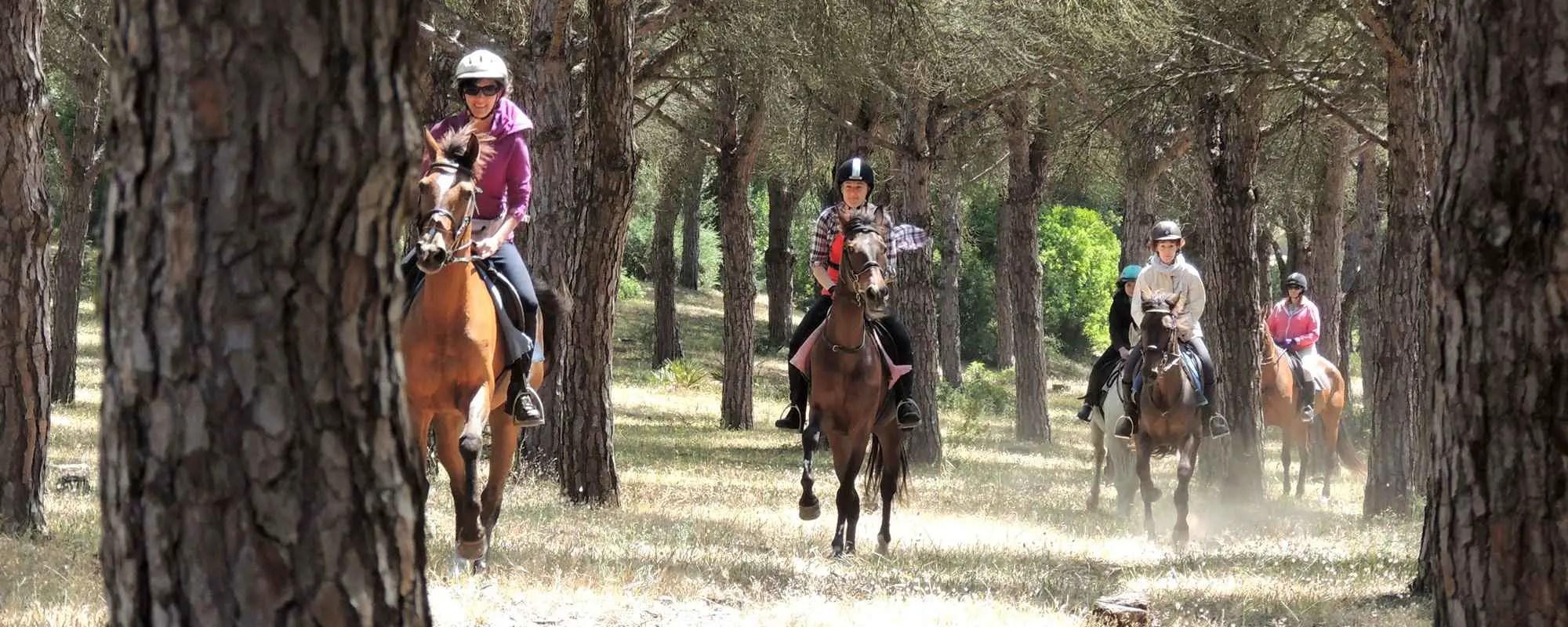 horse riding in Cadiz Spain