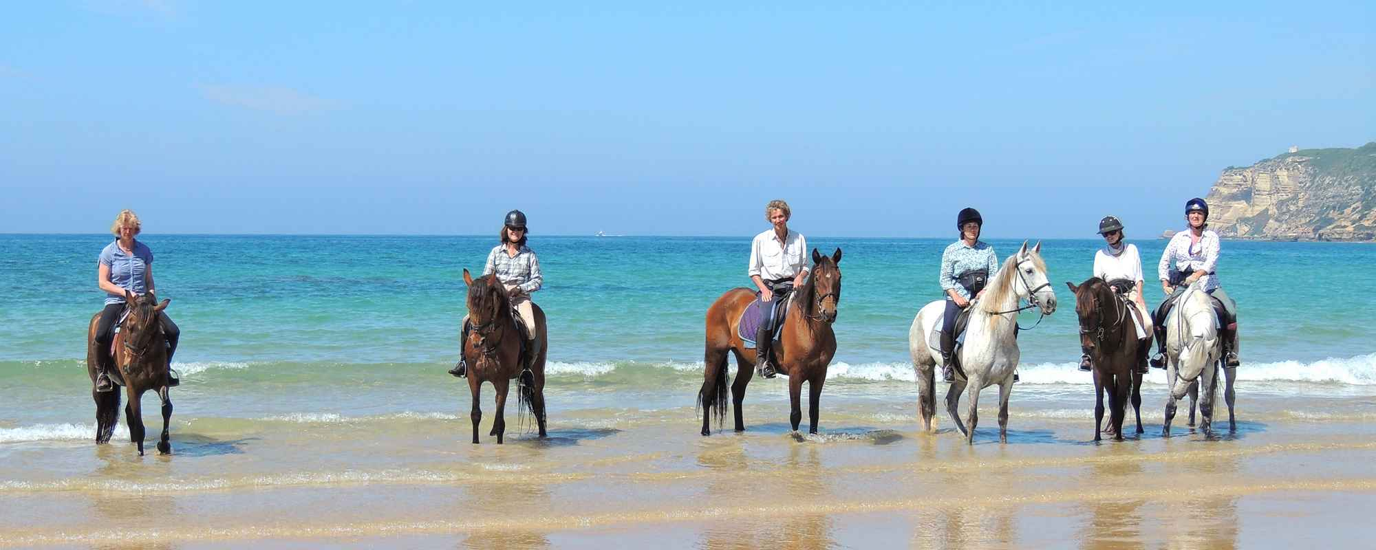 horse riding in spain