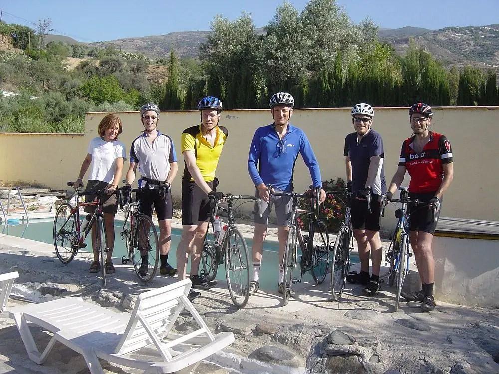 biking holidays in spain