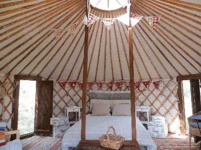 The Green Mountain Yurt