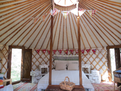 The Green Mountain Yurt