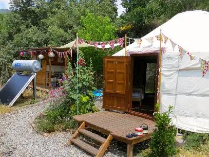 Yurt and Shack