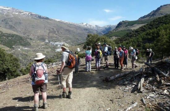 guided walking holidays spain