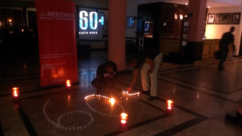 Le Meridien Ogeyi Place shutting down for Earth Hour in Port Harcourt