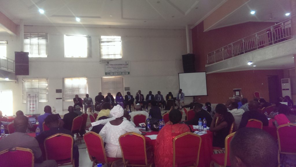 Looking across the Panel of government + CSOs