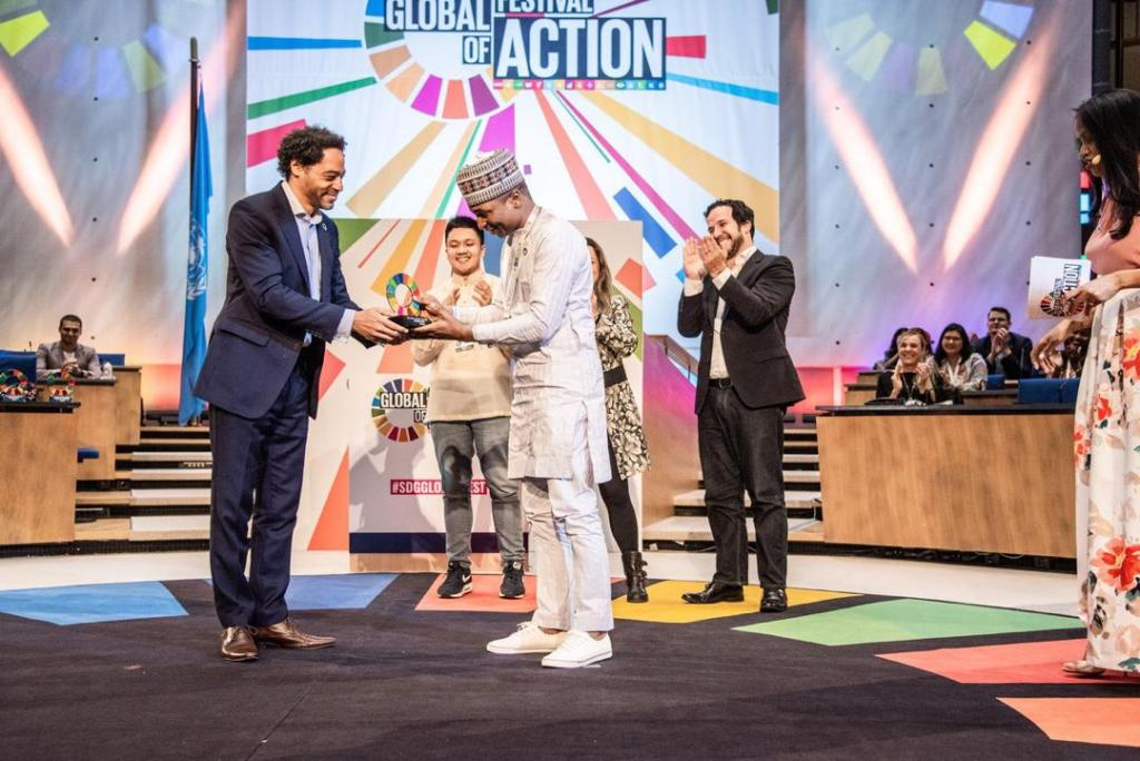 Follow The Money Wins 2019 United Nations SDG Global Mobilizer Award!