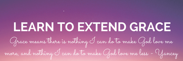 Learn to Extend Grace