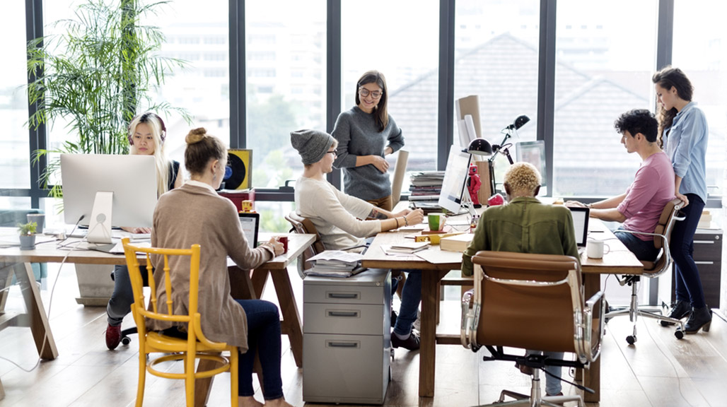 Office Design Trends 2017 A Well Designed Workspace For Happy Employees