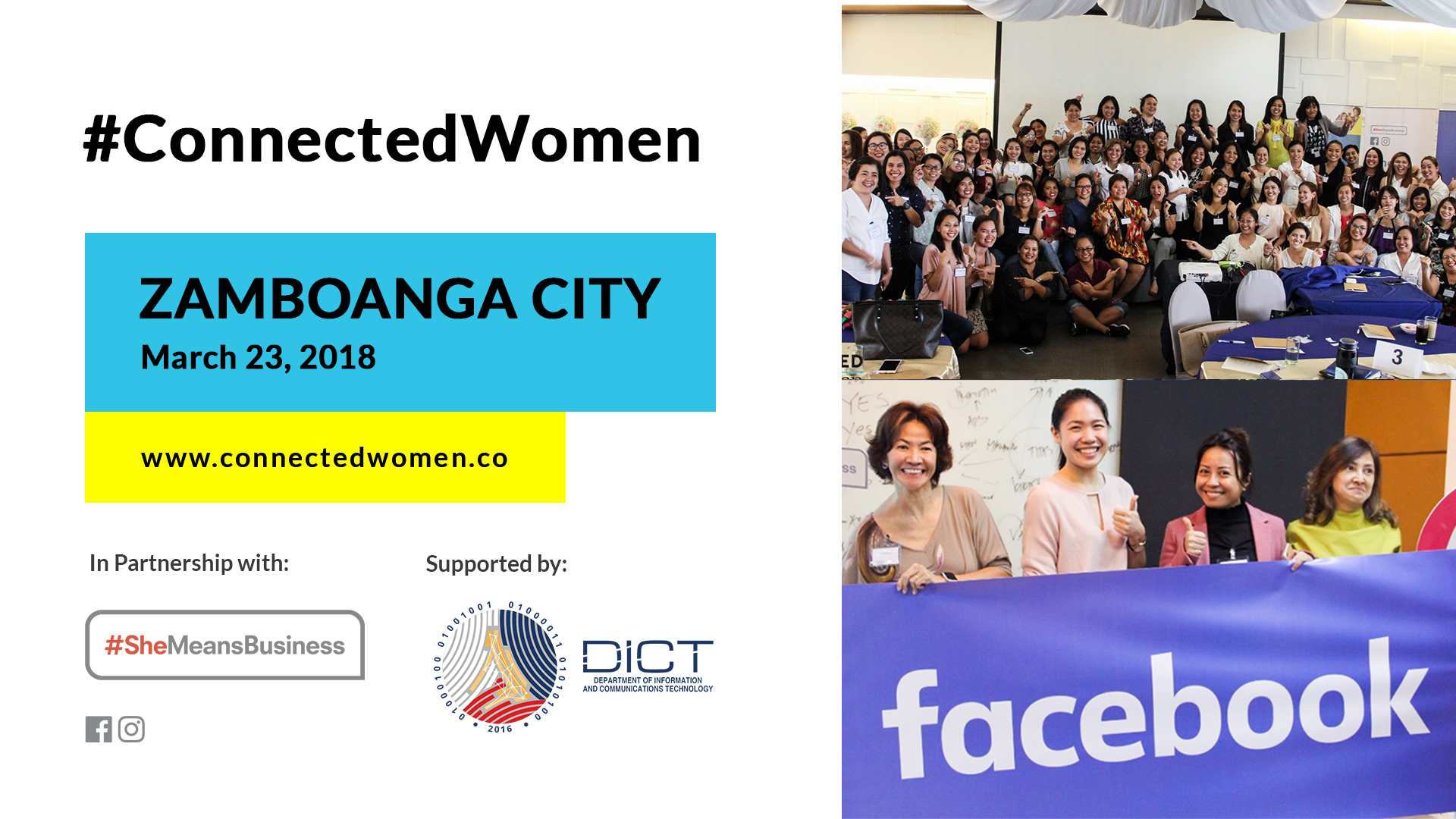 CW EVENTS #ConnectedWomen – Zamboanga, Philippines – March (Event)