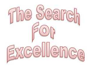The Search For Excellence