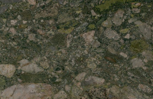 Brushed Granite Counters Verde Marinace Green Granite CT Stone