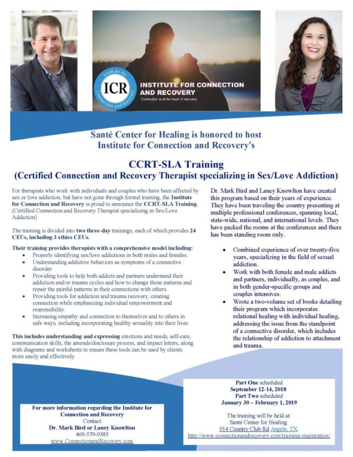 ICR Training Flyer