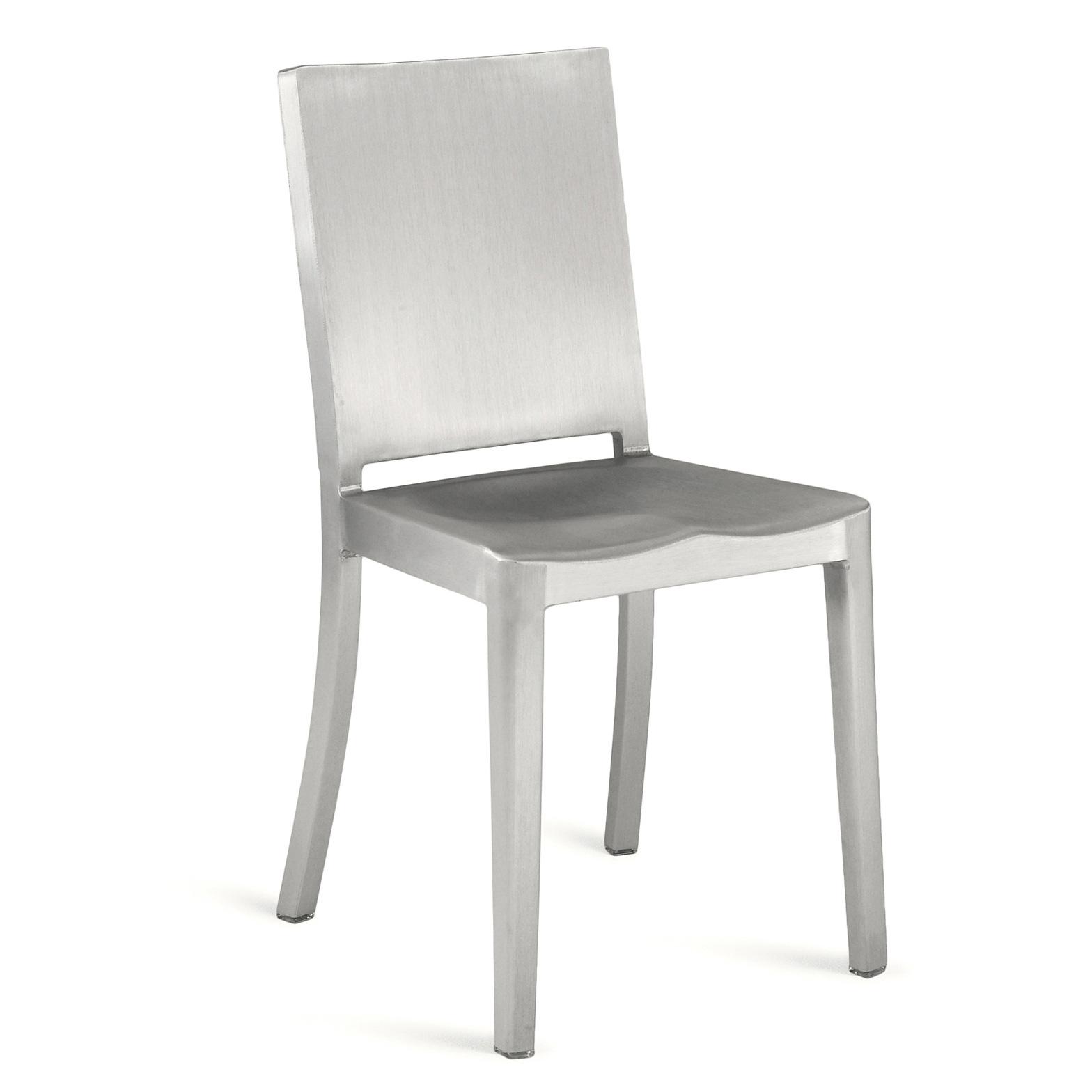 Emeco Hudson Chair Aluminium Brushed Designed By Philippe Starck