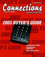 December 2002 issue of Connections Magazine