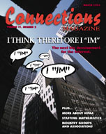 March 2003 issue of Connections Magazine