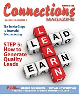 March 2012 issue of Connections Magazine