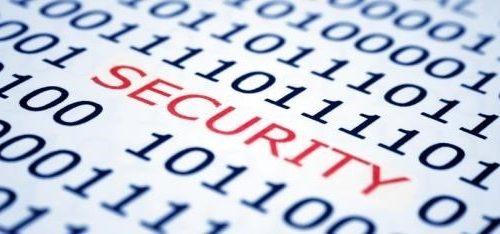 Security ones zeros background