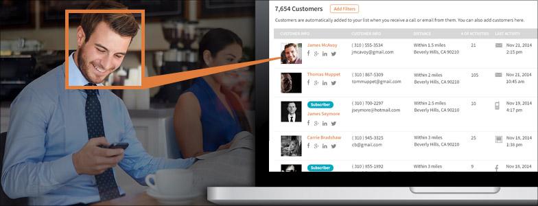 Build Customer Profiles Feature